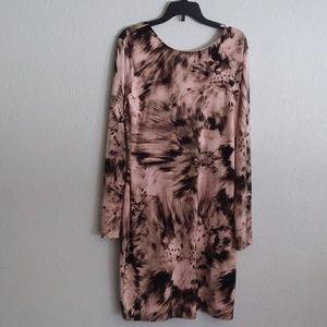 Jennifer Lopez abstract bodycon dress size medium